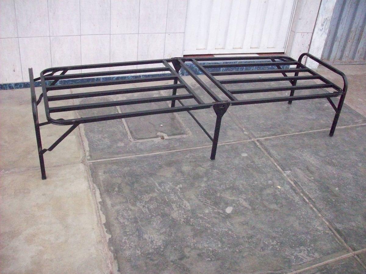 Cama plegable 1 plaza con colchon s 125 00 en mercado for Precio cama 1 plaza