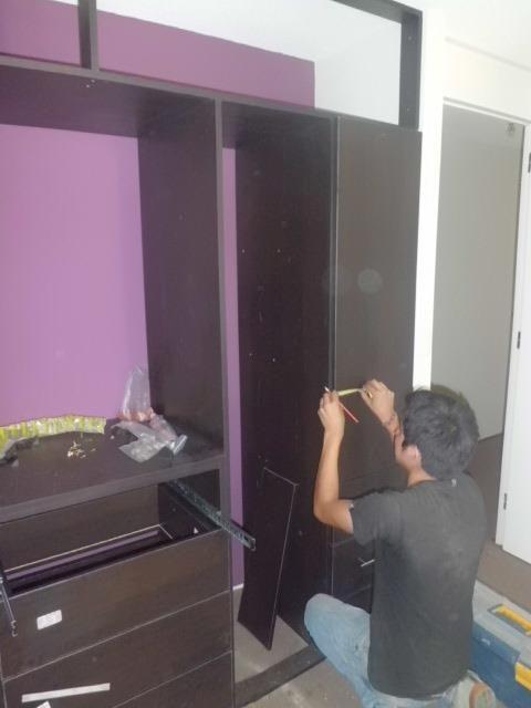 Closet reposteros cocina oficina muebles de melamina s for Muebles de oficina mercado libre
