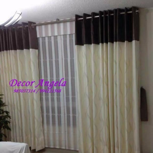 Cortinas originales para dormitorio top pimpamtex cortina opaca trmica aislante blackout para - Cortinas originales para dormitorio ...