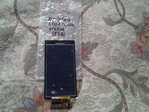 pedido:pantalla +tactil touch sony ericsson xperia s lt26i