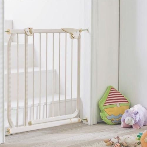 Puerta reja de proteccion para seguridad en bebe y ni os - Puertas de seguridad para ninos ...